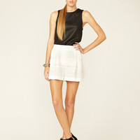 3.1 Phillip Lim Embroidered Zipper Pocket Short