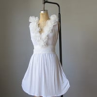Dress / Bridesmaids / Romantic / White / by AtelierSignature