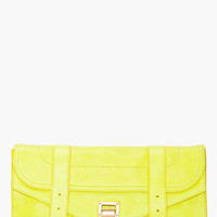 Proenza Schouler Ps1 Citron Pouchette Clutch for women