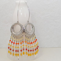 Chandelier Earrings Blades of Glory