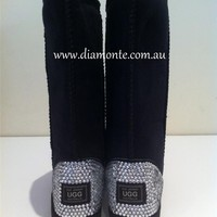 UGG Boots CUSTOM DESIGNED With Swarovski Crystals Ladies ALL COLORS & SIZES 650