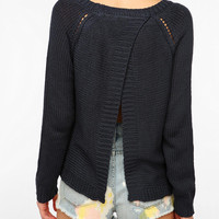 BB Dakota Wilmet Open Back Sweater