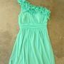 Sweet Mint Julep Dress [2295] - $42.00 : Vintage Inspired Clothing & Affordable Fall Frocks, deloom | Modern. Vintage. Crafted.