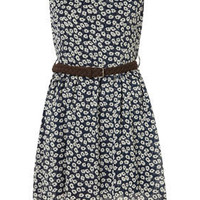 Floral Chiffon Dress by Wal G** - Dresses  - Clothing  - Topshop