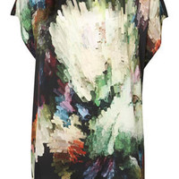 Colour Burst Tunic - Tops  - Clothing  - Topshop