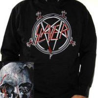 ROCKWORLDEAST - Slayer, Hoodie, South Of Heaven II