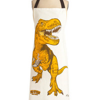 Diner-saurs Apron | Mod Retro Vintage Kitchen | ModCloth.com