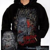 ROCKWORLDEAST - Slayer, Hoodie, Murder Is My Future