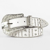 BKE Rhinestone Belt - Women's Accessories | Buckle