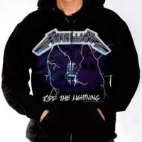 ROCKWORLDEAST - Metallica, Hoodie, Ride The Lightning