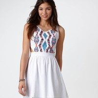 AE Dotty Corset Dress | American Eagle Outfitters