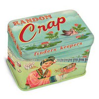 Random Crap Jr. Tin Treasure Box - Whimsical & Unique Gift Ideas for the Coolest Gift Givers