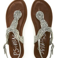 Kids&#x27; PSNYC Beaded Knot Sandals -