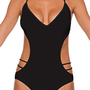 B Swim Noir - Back It Up Monokini One Piece