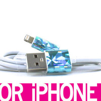 An ode to Jem & the Holograms iPhone 5 cable