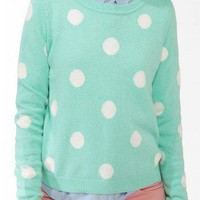 Polka Dot Sweater | FOREVER 21 - 2027704671