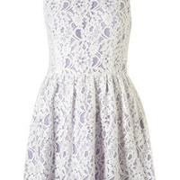 Sleeveless Lace Dress - Top Rated - New In - Topshop USA