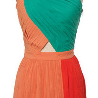 Coral Breeze Dress