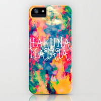 Hakuna Matata Painted Clouds 60 Sales by Caleb Troy | Society6