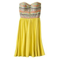 Target : Xhilaration® Juniors Strapless Sweatheart Fit and Flare Dress - Assorted Colors : Image Zoom