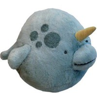 "Squishable Narwhal Plush - 15"": Toys & Games"
