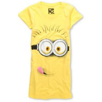Bitter Sweet Girls Silly Minion Yellow Tee Shirt at Zumiez : PDP