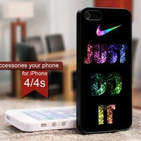 Nike Just Do it - For iPhone 4 / 4s case