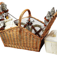 One Kings Lane - Picnic at Ascot - Huntsman Basket for 4, Gazebo