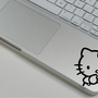 Hello Kitty -- Mac Wrist Rest Decal Sticker Skin Cover Macbook Pro / Macbook Air TouchPad  Decals Stickers