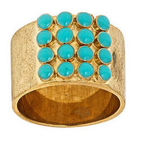 Max & Chloe - Rane Turquoise Dotted Ring - Max and Chloe