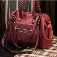 Fashion Handmade Weave Handbag&amp;Shoulder Bag just $36.99 only in ByGoods.com