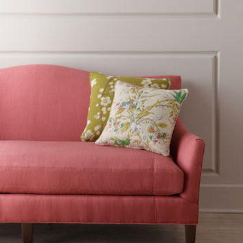 Lee Industries Priddy Raspberry Sofa