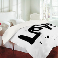 DENY Designs Home Accessories | Kal Barteski Love 1 Duvet Cover