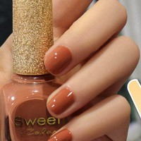 Modern Coffee Sweet Color 12ml Nail Polish [581]