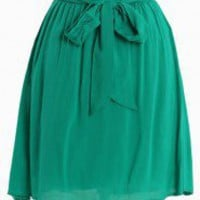 In The City Emerald Skirt