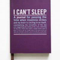 I Can&#x27;t Sleep Guided Journal | Modern Vintage New Arrivals