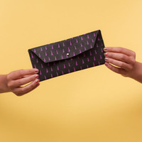tooth&amp;nail - wallet - black - coloured prints