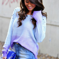 Girl Meets World Sweater: Periwinkle/Purple | Hope's