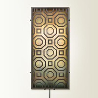 Illuminada - Octagon Delight Wall Sconce Light (8820) - Wall Sconce Lights