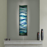 Illuminada - Placid Waves Wall Sconce Light (8809) - Wall Sconce Lights