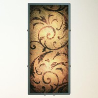 Illuminada - Tuscan Scroll Wall Sconce Light (8822) - Wall Sconce Lights