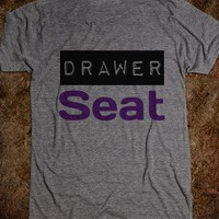 Drawer Seat  - The Wanted Tee Shop