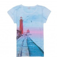 bossini Online Shop - Shop Ladies - T-Shirts (Short Sleeves) - Photo Print T-Shirt
