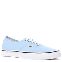 Vans Footwear Sneaker Authentic Lo Top Shoe in Placid Blue and True White