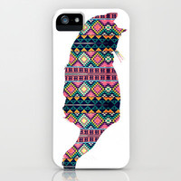 Aztec Cat iPhone Case by Michelle | Society6