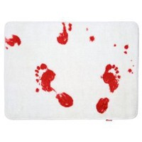 Spinning Hat Blood Bath Bath Mat: Home &amp; Kitchen