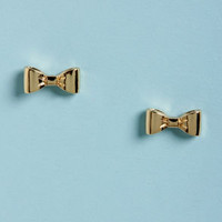 Small Town, Big City Gold Bow Earrings
