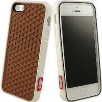 VANS WAFFLE SOLE SNEAKER SHOE TREAD WHITE CASE RUBBER SKIN FOR APPLE iPHONE 5: Cell Phones & Accessories