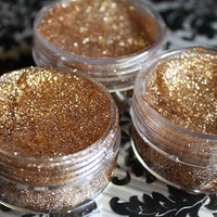 Gold Glitter Hair Gel Temporary Hair Accessory by ShareeBoutique
