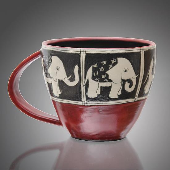 &quot;Round Elephant Mug&quot;